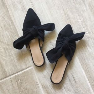 Topshop Bow Mules